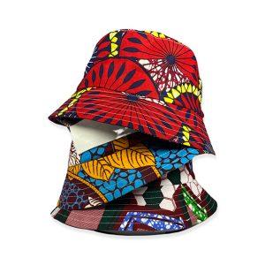 Waxed cotton Bob bucket hats from Benoit Missolin