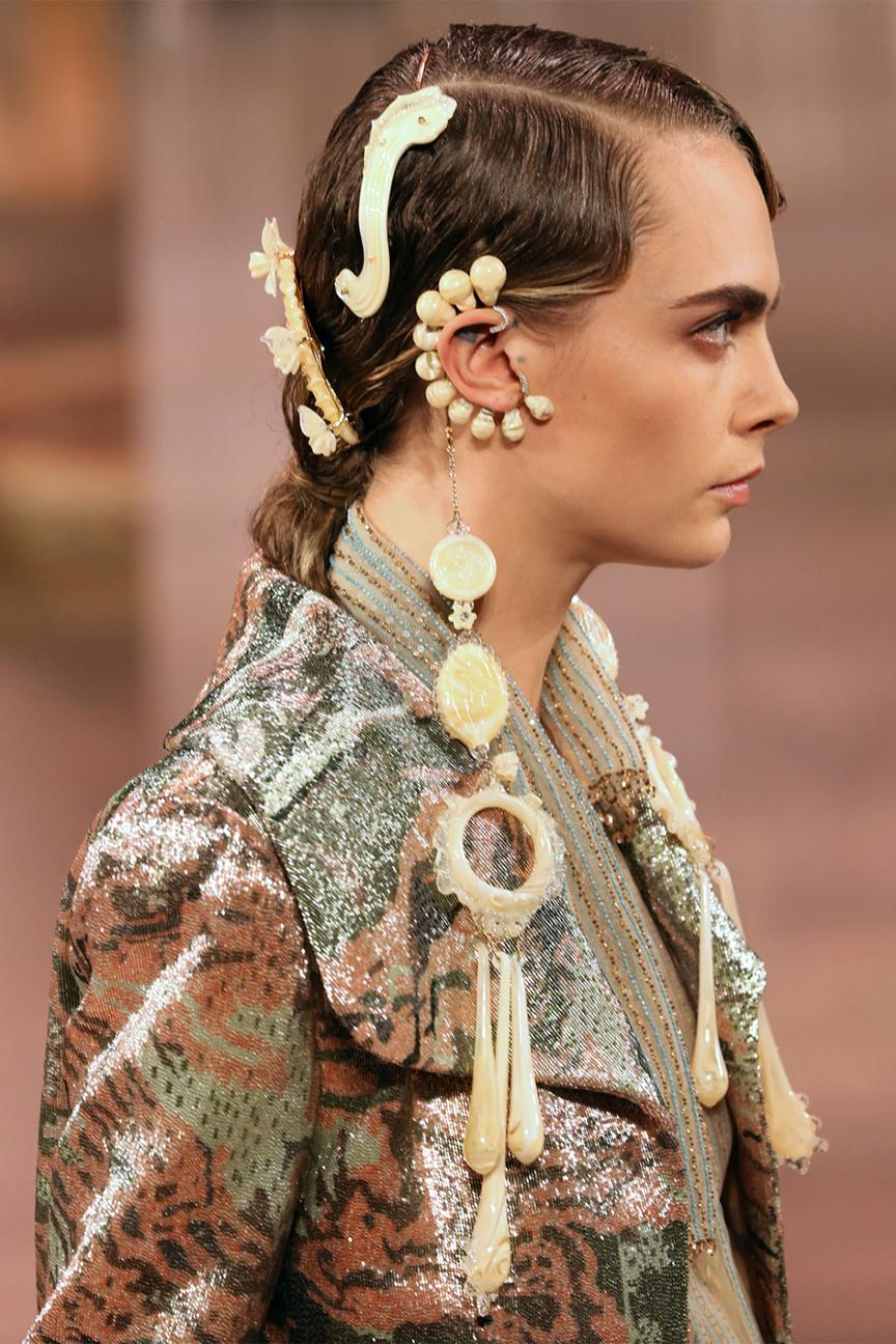 Fendi Haute Couture Spring/Summer 2021 Detail